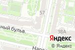Схема проезда до компании Ломбард777 в Белгороде