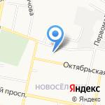 Детский сад №45 на карте Белгорода