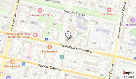 АКБ Металлинвестбанк. Схема проезда в Белгороде