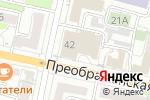 Схема проезда до компании Банкомат, Росбанк в Белгороде