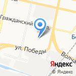 Детский сад №40 на карте Белгорода