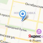 Департамент строительства и архитектуры на карте Белгорода
