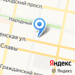 Белгородэнерго на карте Белгорода