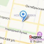 Кафешечка на карте Белгорода