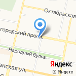 Салон цветов на карте Белгорода
