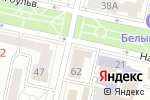 Схема проезда до компании Городская детская поликлиника №2 в Белгороде