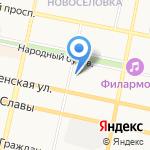 Управление по контролю за оборотом наркотиков УМВД России по Белгородской области на карте Белгорода
