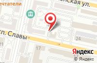 Схема проезда до компании Ландшафтное бюро в Белгороде
