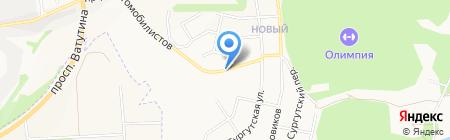 АЗС Газпром на карте Белгорода