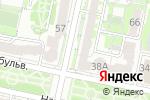 Схема проезда до компании Престиж в Белгороде
