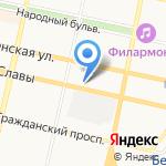 Архитектурное бюро Доценко на карте Белгорода