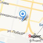 Участковый пункт полиции №25 на карте Белгорода