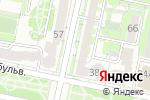 Схема проезда до компании ЗАГС Восточного округа в Белгороде