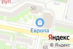 Схема проезда до компании СушиВёсла в Белгороде