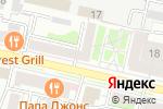 Схема проезда до компании Выбор-Сервис в Белгороде
