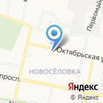 Армейский на карте Белгорода