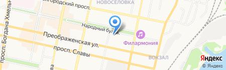 Огни Белогорья на карте Белгорода