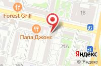 Схема проезда до компании РосТранс в Белгороде
