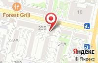 Схема проезда до компании Visa Travel в Белгороде