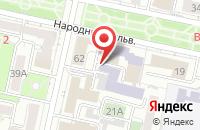 Схема проезда до компании СтроевЪ в Белгороде