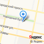 СтроевЪ на карте Белгорода