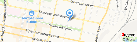 Домофёнок на карте Белгорода