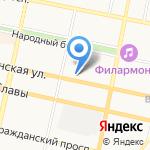 Белгородский литературный музей на карте Белгорода