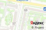 Схема проезда до компании Фронда в Белгороде