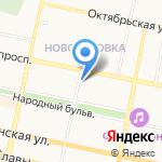 Фронда на карте Белгорода