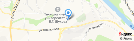 БГТУ на карте Белгорода