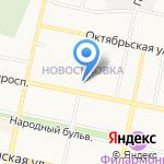 Ригла на карте Белгорода