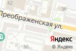 Схема проезда до компании Онлайнтурс в Белгороде