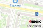 Схема проезда до компании Российский фонд мира в Белгороде