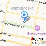 Южный ветер на карте Белгорода