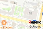 Схема проезда до компании Паркинг-М в Белгороде