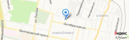 Детский сад №8 на карте Белгорода