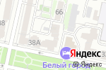 Схема проезда до компании Центр безопасности в Белгороде