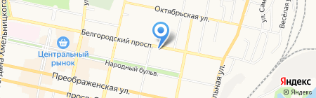 Информ-бизнес-риэлт на карте Белгорода