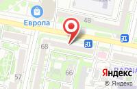 Схема проезда до компании Интерьер31 в Белгороде