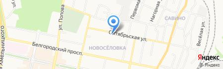 Дом ногтевого сервиса на карте Белгорода