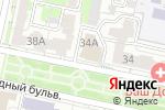 Схема проезда до компании Белый город в Белгороде