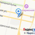 Управление социальной защиты населения Белгородской области на карте Белгорода
