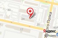 Схема проезда до компании АВИАРЕЗЕРВ в Белгороде