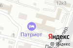 Схема проезда до компании БелВоенСнаб в Белгороде