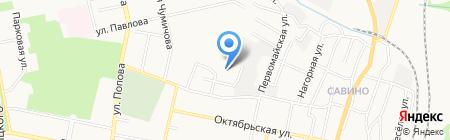 Крылья Белгородчины на карте Белгорода
