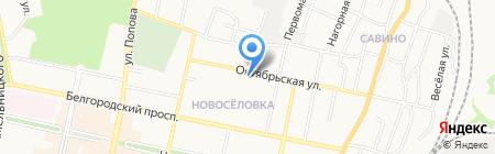 Сигнализация на карте Белгорода