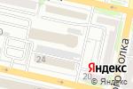 Схема проезда до компании III QBF в Белгороде
