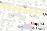 Схема проезда до компании Веретено в Белгороде