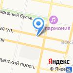 Управление автомобильных дорог общего пользования и транспорта Белгородской области на карте Белгорода