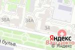 Схема проезда до компании Aur-ora в Белгороде